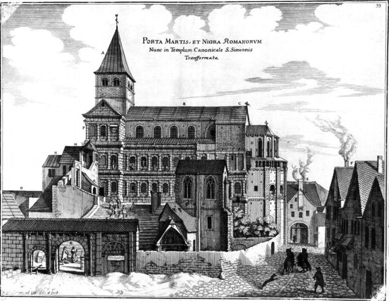 Merian_Porta als Simeonskirche