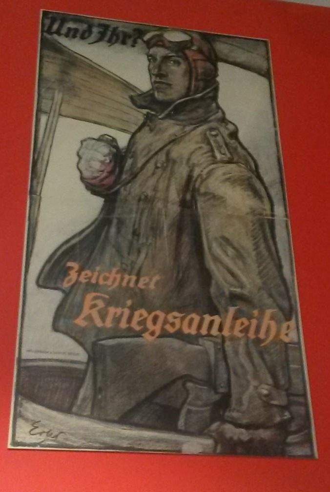 Luftwaffen-Propaganda aus dem 1. Weltkrieg