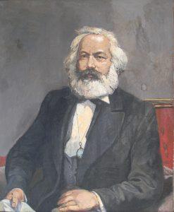 """Willi Sitte, """"Karl Marx"""", undatiert. Dauerleihgabe der Bundesrepublik Deutschland"""